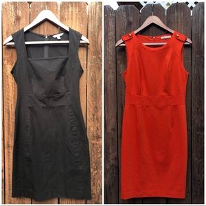 Lot of 2 Banana Republic Dress sz 4